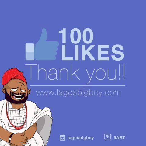 100 Likes Milestone